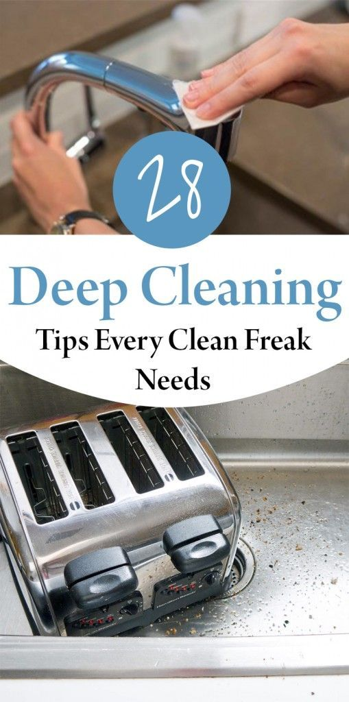 28 Deep Cleaning Tips Every Clean Freak Needs – Wrapped in Rust