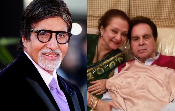 Amitabh Bachchan speaks up about Dilip Kumars health!