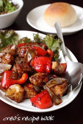 チキンとパプリカのバルサミコソテー by cureo [クックパッド] 簡単 ...