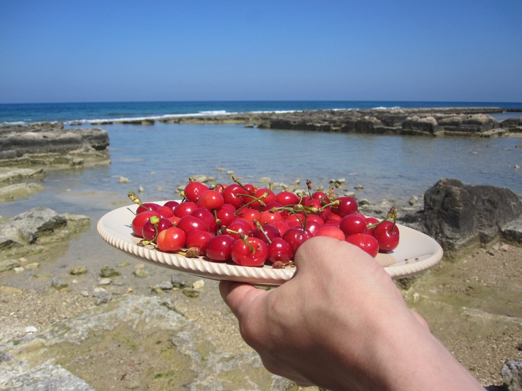Life is a bowl is cherries