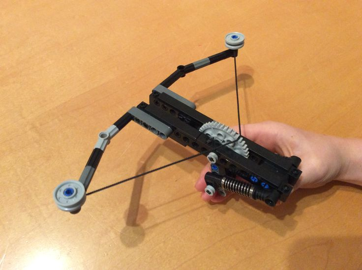 lego technic catapult with (easy) build instructions - YouTube ...