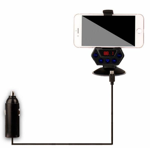 Cargador del coche con el sostenedor del coche de la función de Bluetooth para los teléfonos