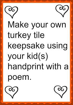 Momma's Fun World: Thankful tile keepsake