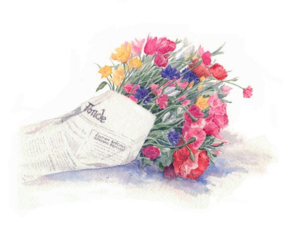 Flower Bouquet (Special Edition) by Kathleen Maunder