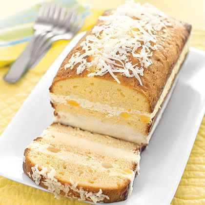 Piña Colada Ice Cream Cake Recipe