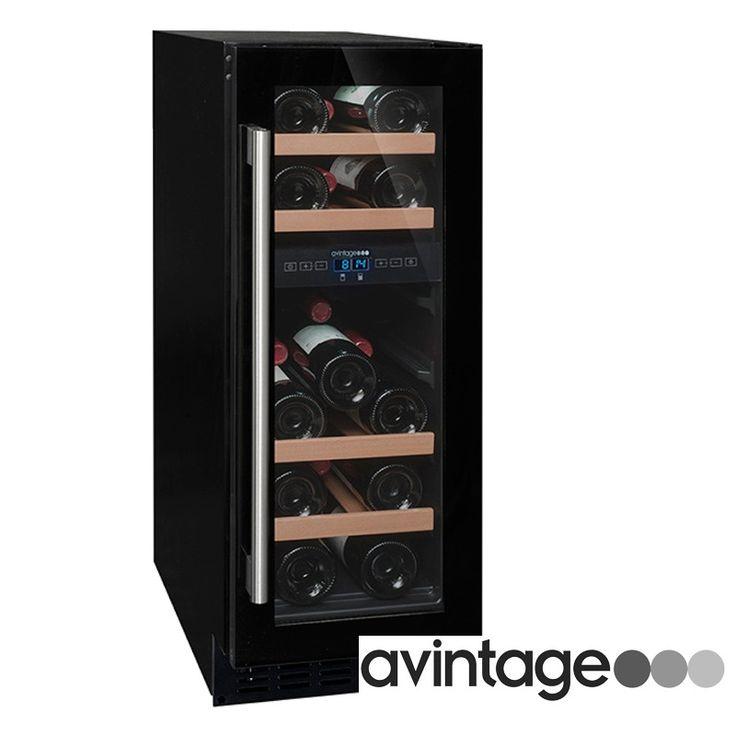 La vinoteca AV18CDZ es encastrable, de reducidas dimensiones (ver otras vinotecas pequeñas), para colocar en espacios pequeños. Con una capacidad para 17 botellas. Entrega entre 48/72 horas.