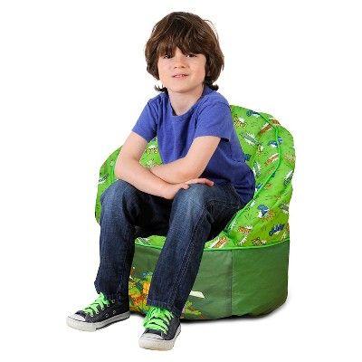 Teenage Mutant Ninja Turtles Toddler Bean Bag Chair - Green - Nickelodeon,