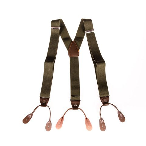 shop green Mens Braces online | Punk Monsieur