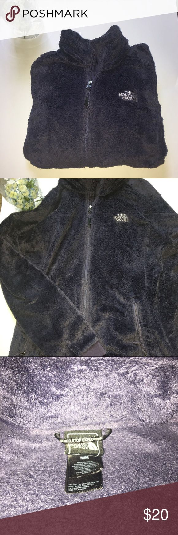 North face fuzzy zip up! Purple/grey north face zip up! Used condition, priced to sell! Woman's size medium! North Face Jackets & Coats