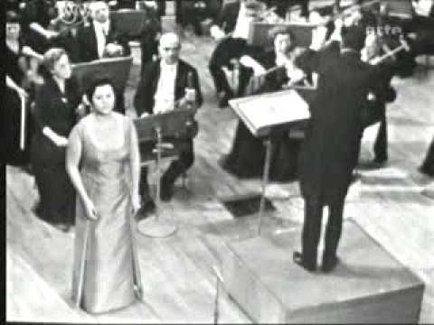 Regine Crespin Berlioz Les nuits d'ete 'Le spectre de la rose' - YouTube