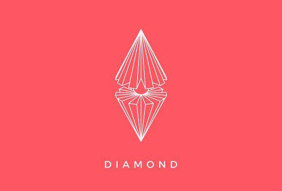 Diamond Logo by Michael Rayback on @creativemarket