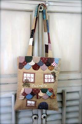 """TWINKLE PATCHWORK: Bolso """" Sewing Dreams """""""
