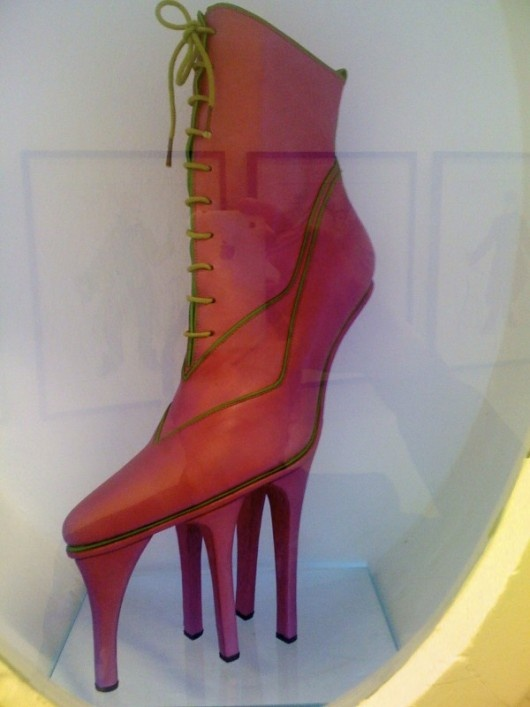 crazy heel. Would you or wouldn't you?