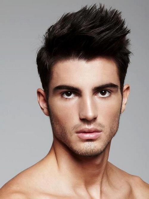 Modern Short Men Hairstyles 2014 Hbk Studio Men