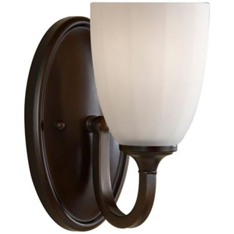 Feiss Perry 8 3 4 High Heritage Bronze Wall Sconce