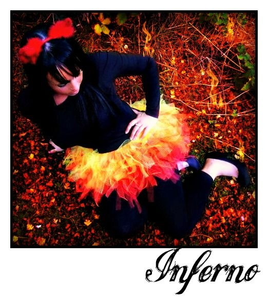 girl on fire tutu flame tutu halloween costume wwwtutufactorycouk - Fire Girl Halloween Costume