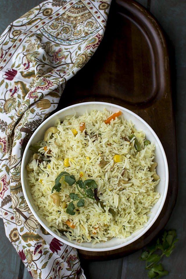 Bengali Mishti Pulao with Vegetables