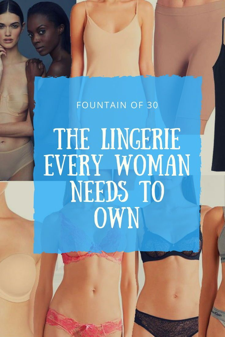7dc2b148725 Underneath It All  The Lingerie Every Woman Needs To Own
