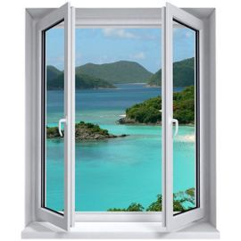 25 best images about false windows on pinterest for Decoration murale fausse fenetre