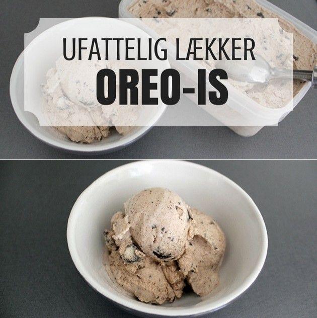 Den her Oreo is er ikke bare lækker, den er også virkelig nem at lave.