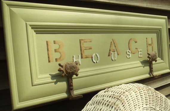 Cottage Chic Wood Sign  Wall Art  Wood Wall by AlleyCatDesignSt, $65.00