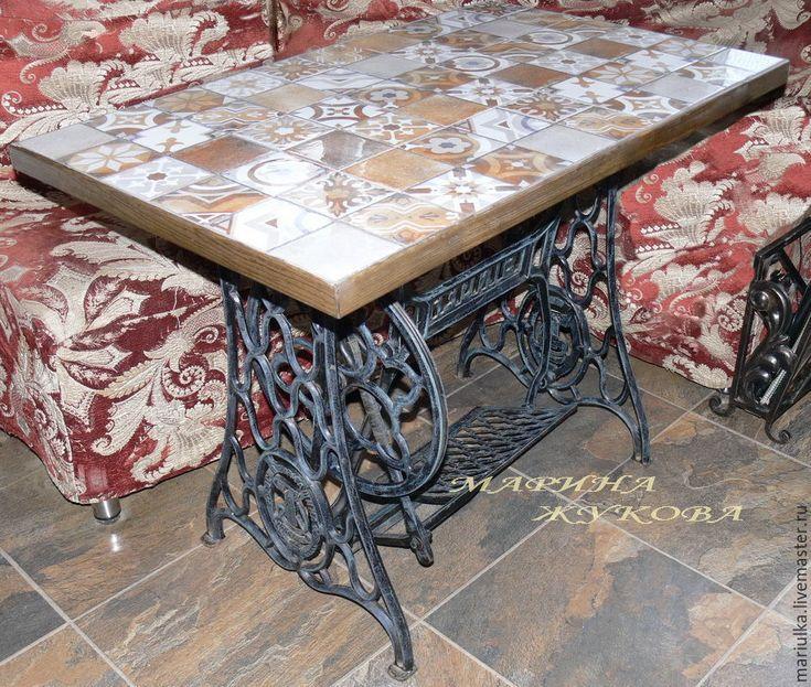 """Купить Стол """"Европа"""" - стол, зингер, стол обеденный, кухня, мебель ручной работы"""