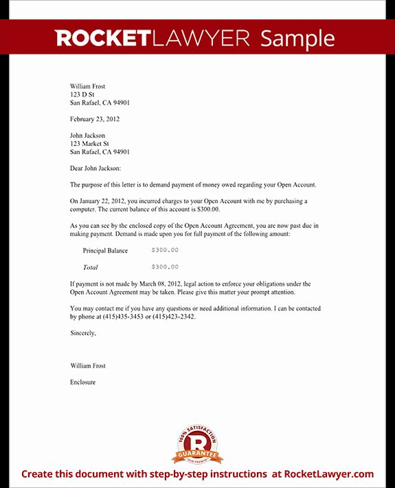 Letter Of Demand Template Lovely Demand Letter Template For Owed Money Claim Your Money In 2021 Lettering Payoff Letter Letter Templates Free
