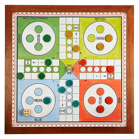 """Buy Jaques Ludo 23"""" Luxury Board Game Online at johnlewis.com"""