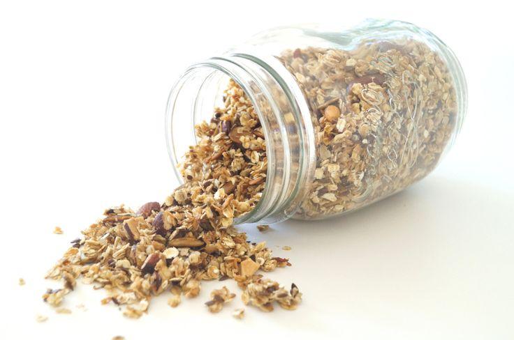 Sukkerfri granola (ikke low carb) - Lowcarb.dk