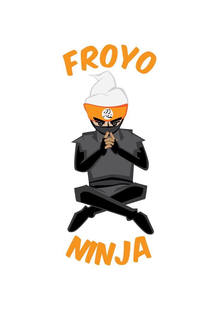 "Design Contest - Wednesday Online Class Client wanted a Logo with a mascot for their frozen yoghurt business ""http://jobs.designcrowd.com.au/job.aspx?id=506788"""