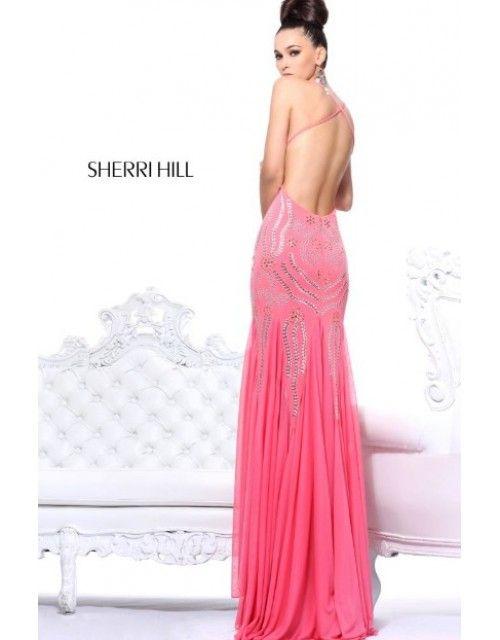 13 mejores imágenes de Sherri Hill Open Back Dresses en Pinterest ...