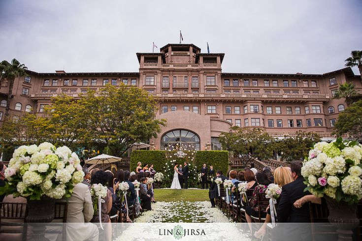Langham Hotel Pasadena Wedding Kosta Stephanie