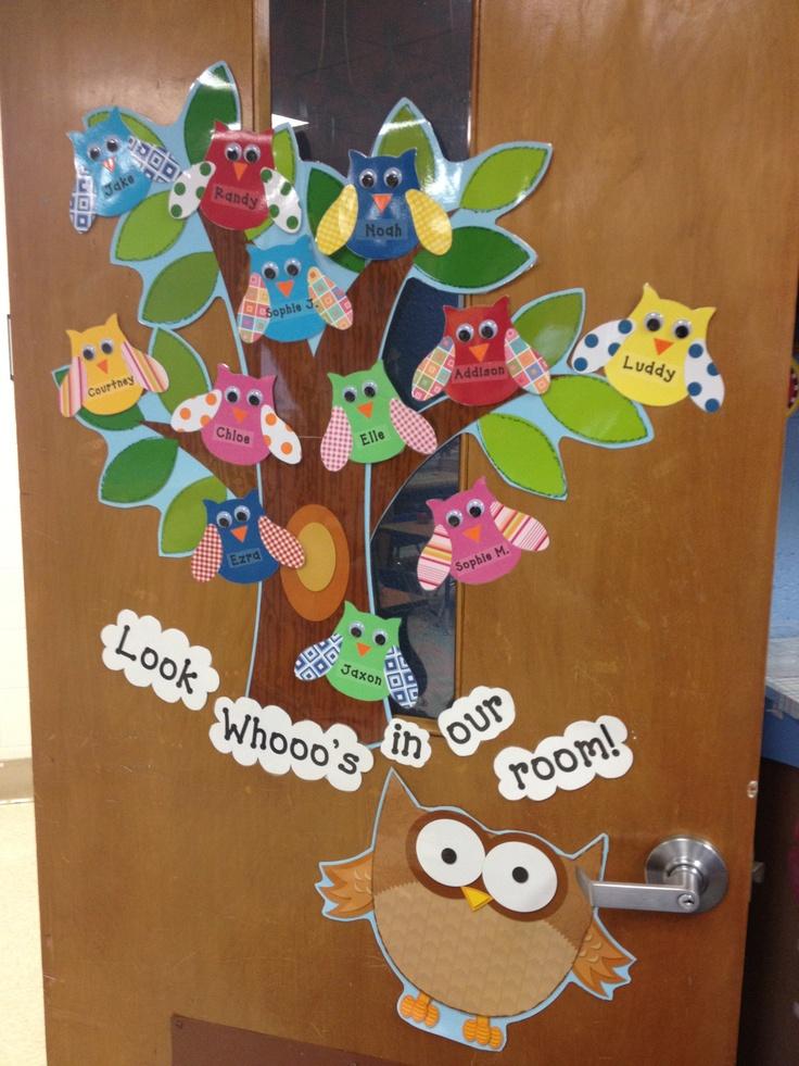 Beginning of the year door