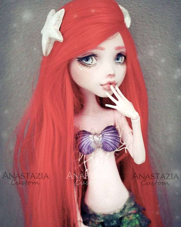 Ariel - custom MH doll