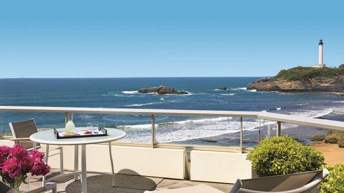 Le sud de la France à Biarritz ! Profitez de la mer et du soleil... http://www.spadreams.fr/thalasso-spa-cures/  http://www.spadreams.fr/pas-cher/france/aquitaine/biarritz/sofitel-biarritz-le-miramar-thalassa-sea-spa/