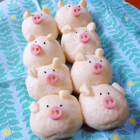 日本人のごはん/お弁当/パン Japanese meals/Bento/Bread ついに登場♥ちぎりパンの進化版!『3Dちぎりパン』がすごいんです♡ マシマロ