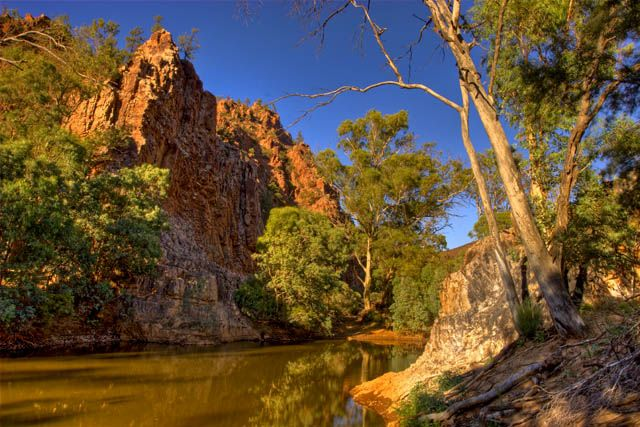 Echo Camp Waterhole, Arkaroola Creek - Flinders Ranges, South Australia.