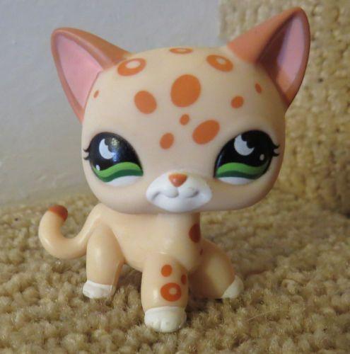 Littlest Pet Shop Lps Cheetah Cat 852 Sold Little Pet