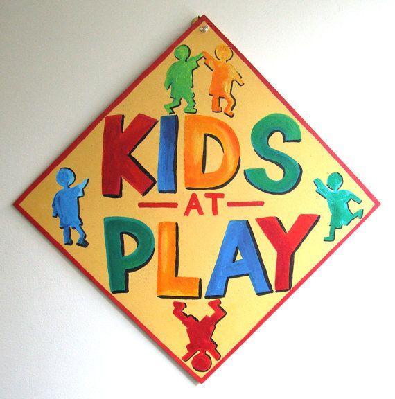 19 best kids at play safety cones images on pinterest for Signs for kids rooms