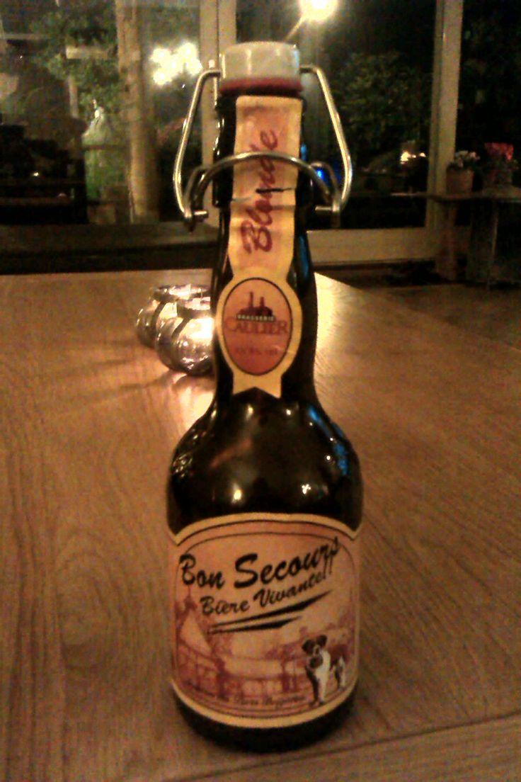 Bon Secours Blonde -  Brasserie Caulier-  Beoordeling GGOB 6,8. Eigen beoordeling:5