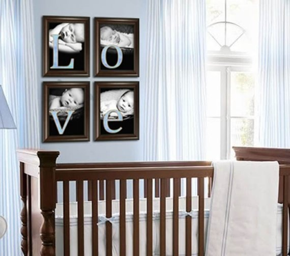 36 best images about boys nursery on pinterest boy art for Living room 6 letters