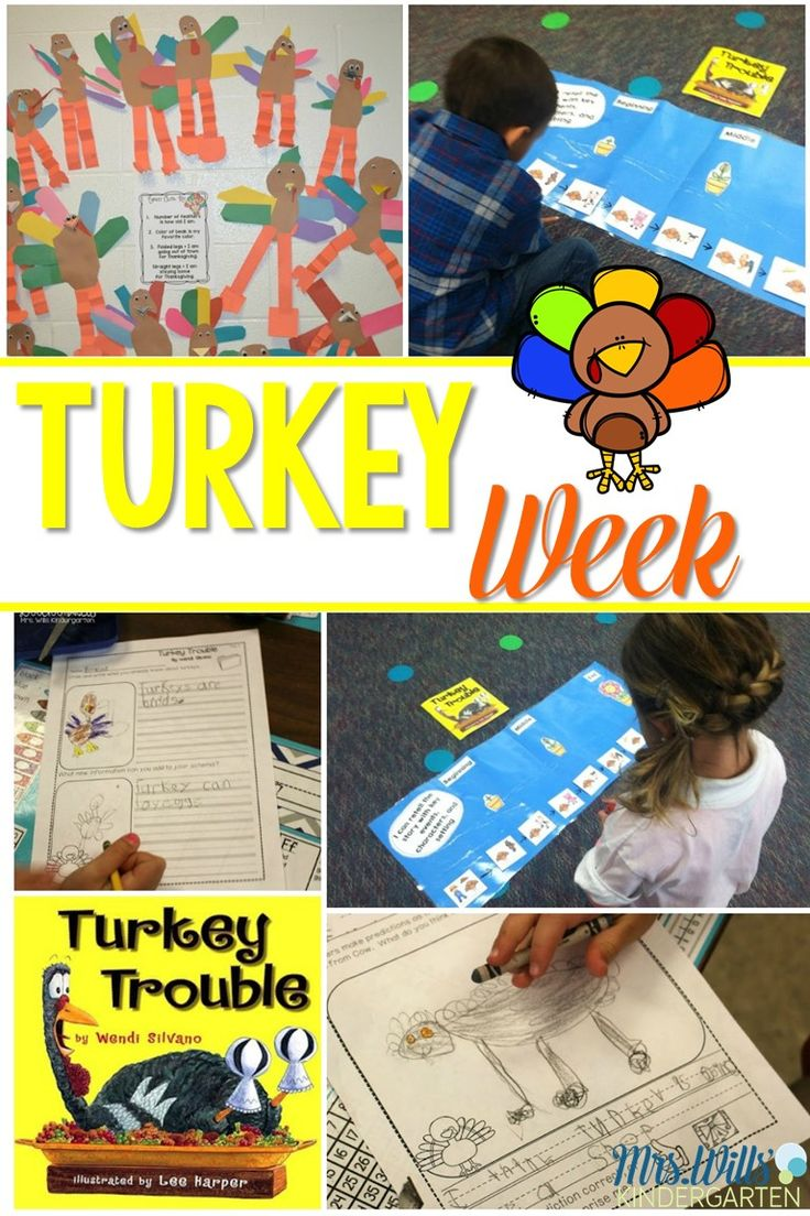 Check out these kindergarten Thanksgiving activities, including turkey glyphs, guiding readers, and retelling Thanksgiving stories!