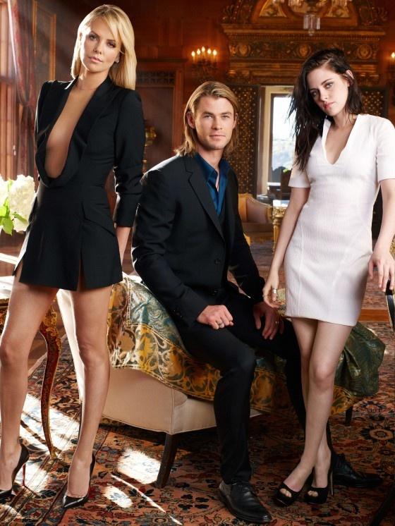 Charlize Theron & Kristen Stewart - Snow White and the Huntsman photoshoot