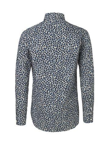 Lepard Svante Shirt Blue Lepard