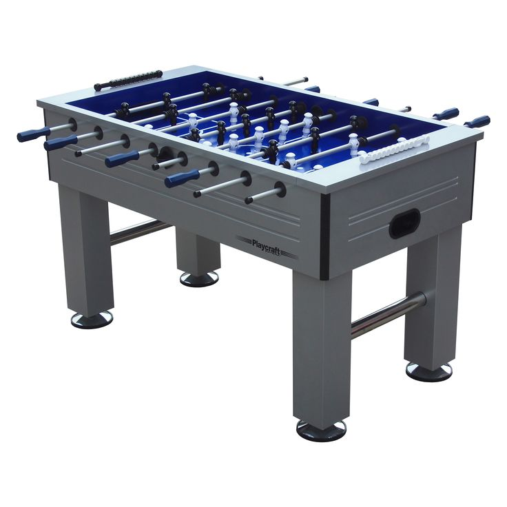 Playcraft Extera Outdoor Foosball Table - Enjoy your favorite indoor game outside as well with the Playcraft Extera Outdoor Foosball Table . Carefully and firmly attached players on aluminum...