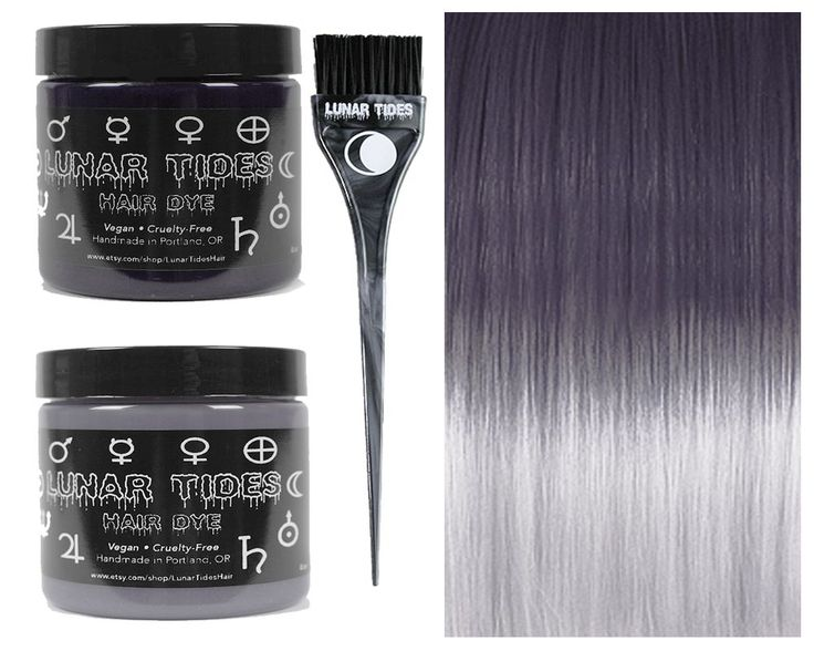 Make ombre easy with this ombre fade kit! The Grey DIY Ombre Kit features our Slate Grey (medium grey shade) and our Silver Lining (pastel silver shade).
