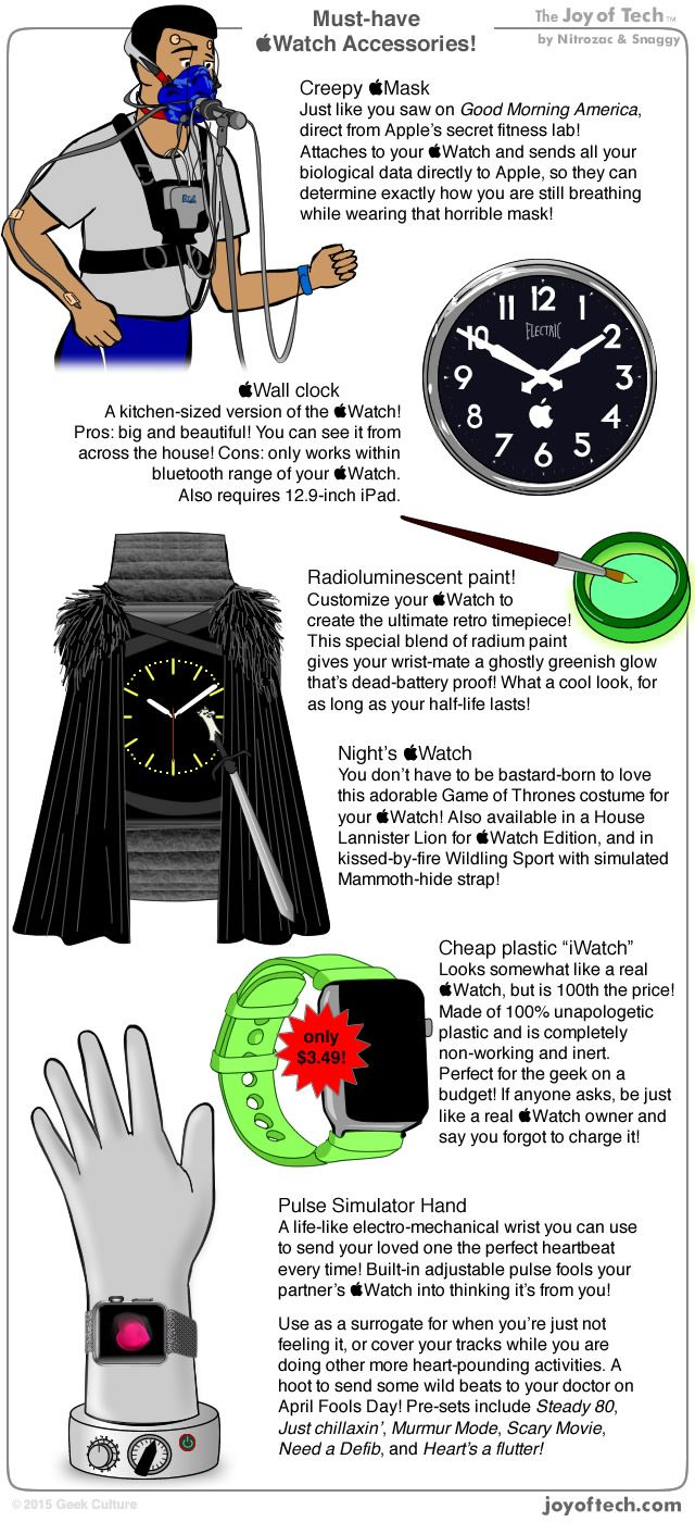Must-have Apple Watch accessories!
