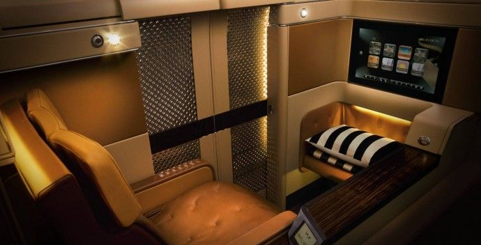 Business Class Etihad Airways