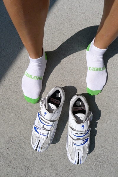 Cariloha Bamboo socks - crazy-soft comfort for runners, cyclists or for any occasion. Retail: $12.00