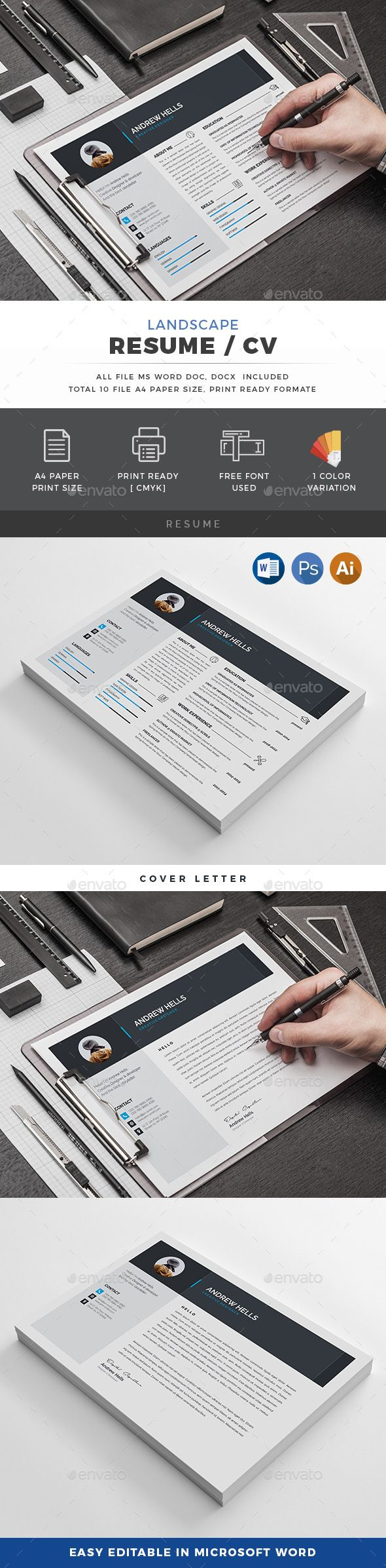 161 best -=Resume\'s=- images on Pinterest | Resume, Resume templates ...